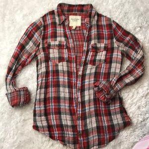 Plaid Abercrombie&Fitch shirt